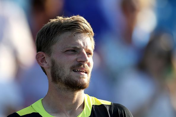 David Goffin will have a hard timing getting the better of a dangerous-looking Dimitrov