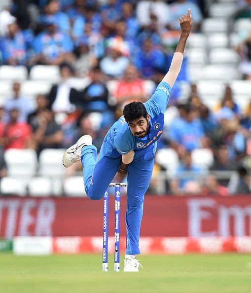 Indian pace spearhead Jasprit Bumrah