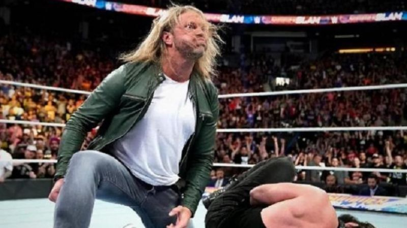 Imagine the roar of the crowd, if Edge actually returns