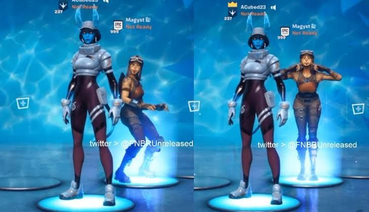 Picture of the emotes Picture Courtesy: FNBRunreleased