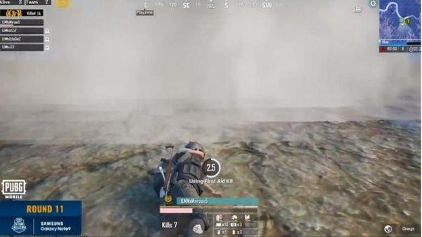 Smoke Grenade in PUBG Mobile