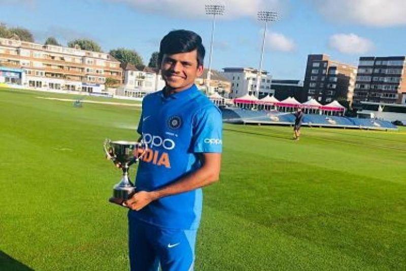 भारतीय अंडर-19 टीम के कप्तान प्रियम गर्ग