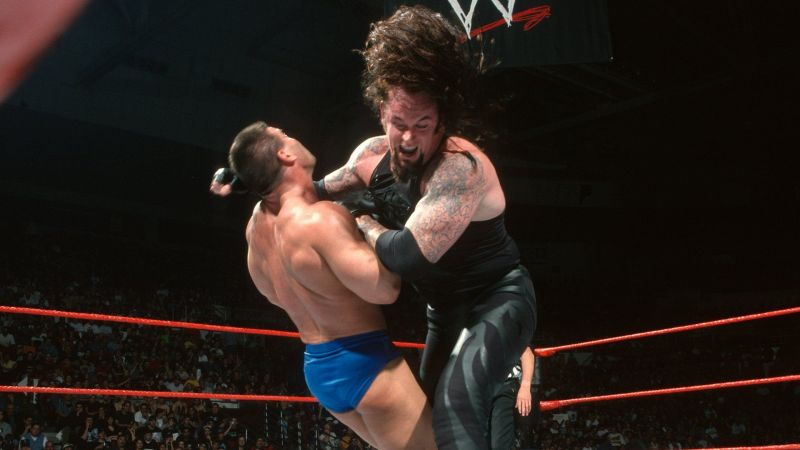The Undertaker and Ken Shamrock