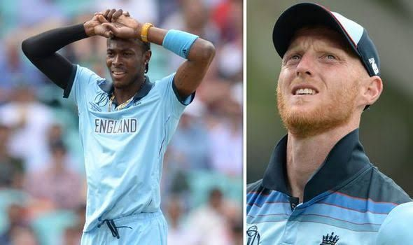 Two World Cup winners Archer and Stokes