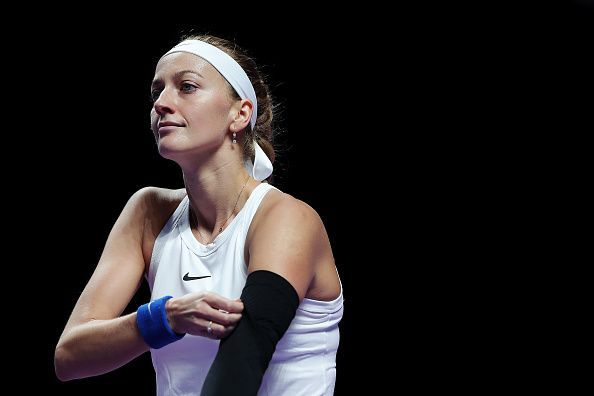 Petra Kvitova has had whirlwind seasons in Australia during the last few years.
