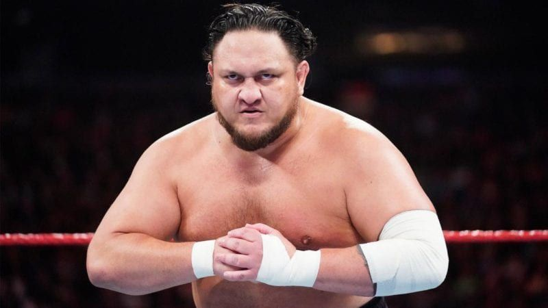 Samoa Joe is a member of the RAW roster
