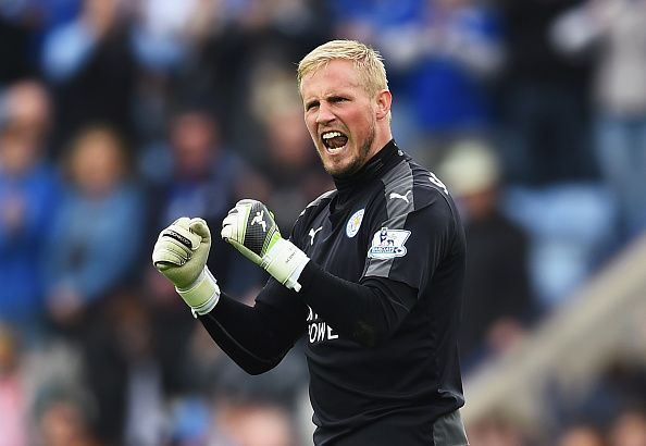Kasper Schmeichel has been Leicester