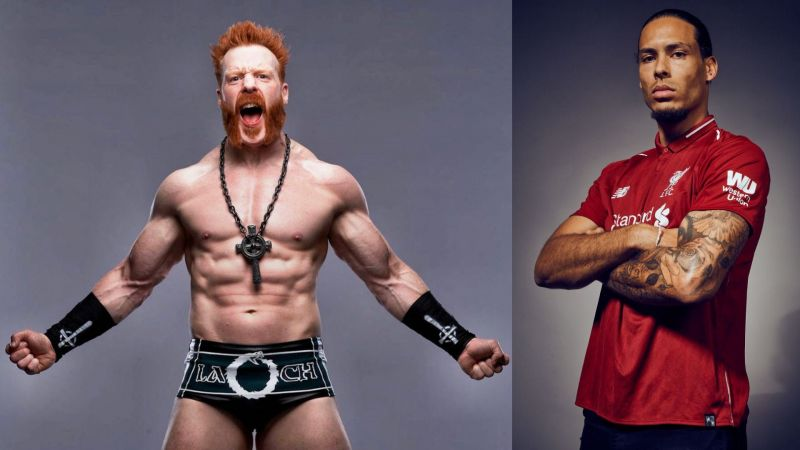 Sheamus picked VVD for his tag team partner