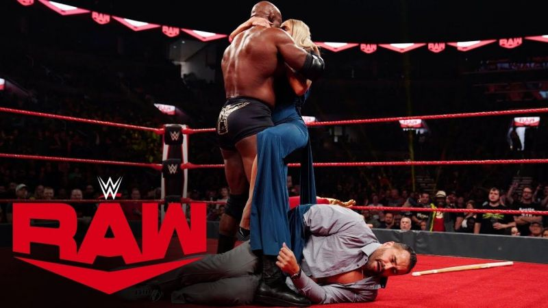 All eyes are on Bobby Lashley right now!