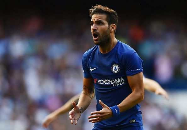 Cesc Fabregas enjoyed success with Arsenal and Chelsea