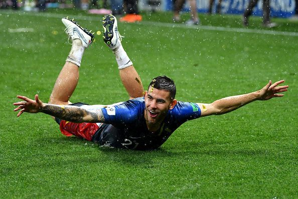 Lucas Hernandez of Bayern Munich