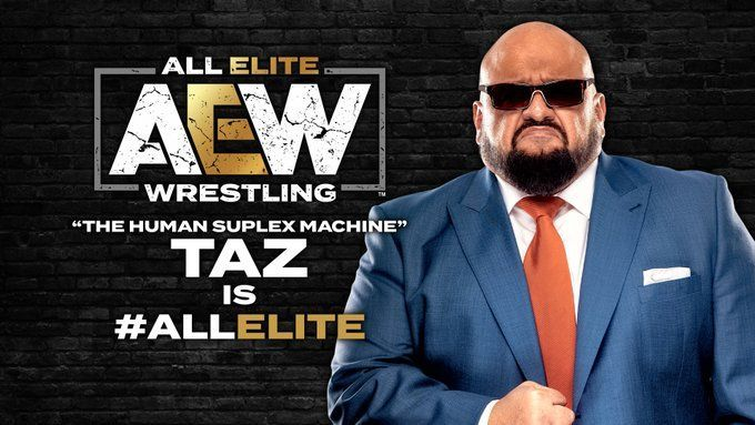 He has joined the revolution ...again (Pic Source: AEW Twitter)