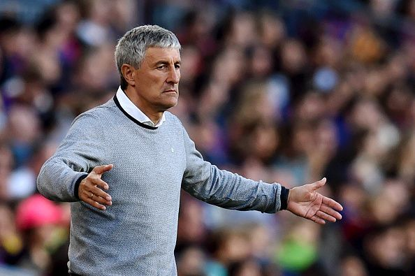 Former Real Betis boss Quique Setien has been appointed as the new manager of Barcelona
