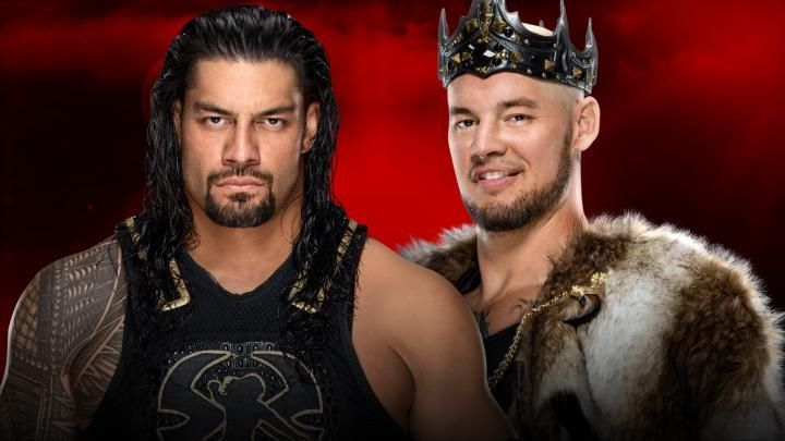 Roman Reigns vs King Corbin