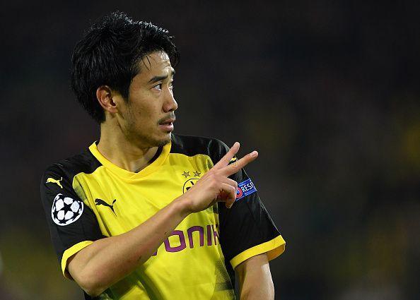 Shinji Kagawa was signed by Dortmund twice during the decade