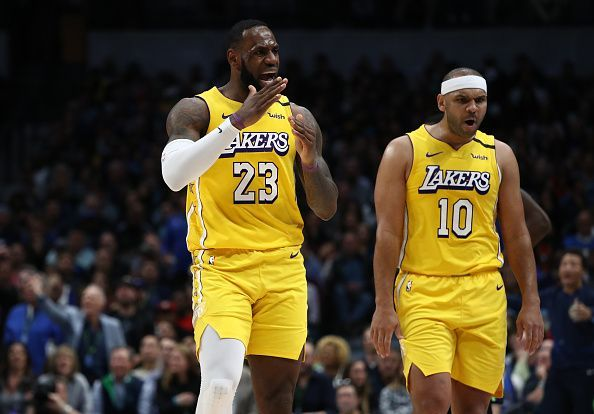 LeBron James and the Lakers could use the veteran guard/forward