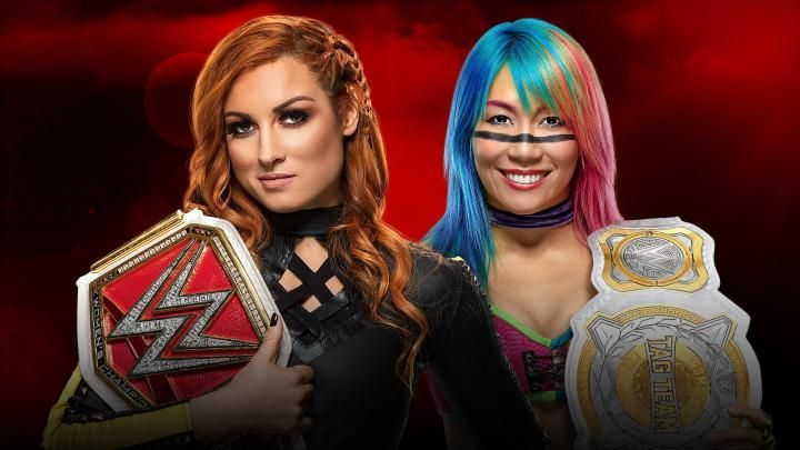 Becky Lynch vs Asuka