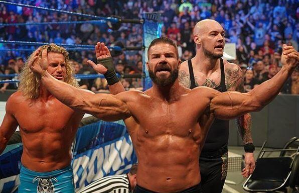 Robert Roode returned on SmackDown