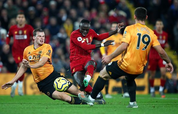 Wolves host Liverpool at the Molineux in the Premier League