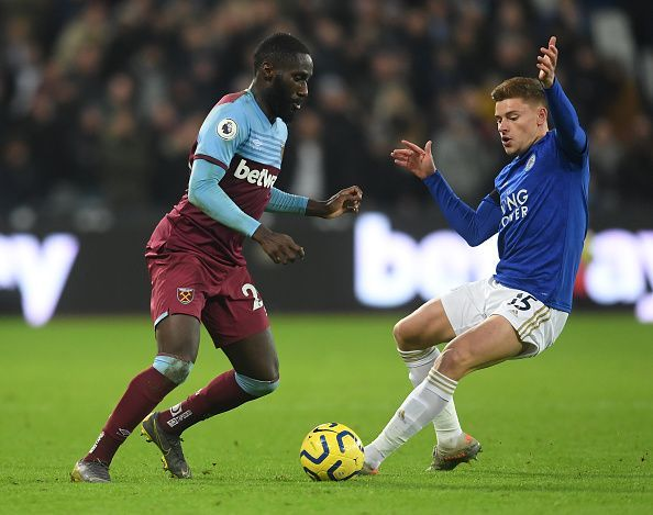 Leicester City host West Ham United in the Premier League