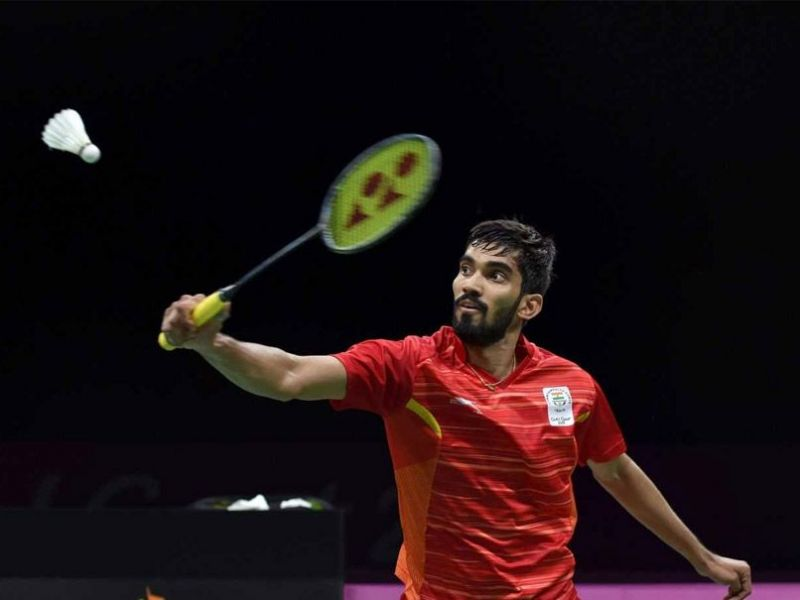 Kidambi Srikanth is one of the athletes who will be getting the ₹₹1.5 crore assistance under TOPS