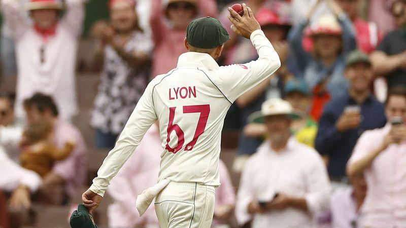 Australia spinner Nathan Lyon