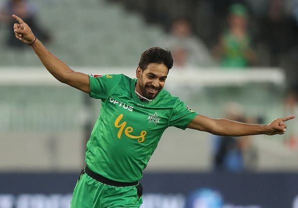 Haris Rauf grabbed his maiden T20 hattrick and made it two hattricks in a day in the Big Bash League.