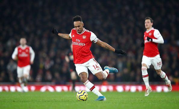 Aubameyang will be staying at Arsenal this January