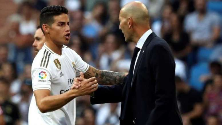 James is unsettled at Real Madrid once again.