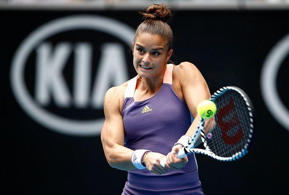 Maria Sakkari has troubled Kvitova in the past.