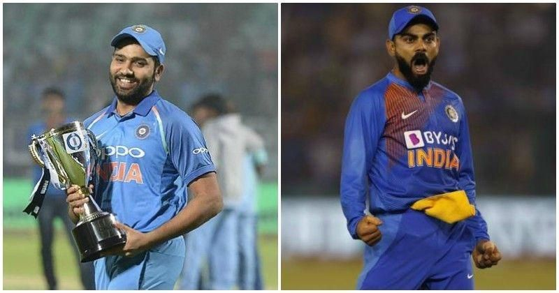 It is difficult to see Rohit Sharma being the Indian captain when Kohli is still playing in the eleven