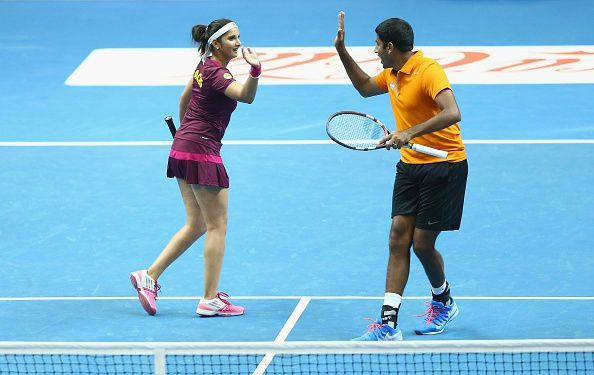 Rohan Bopanna and Sania Mirza have not played together since the 2016 Olympics