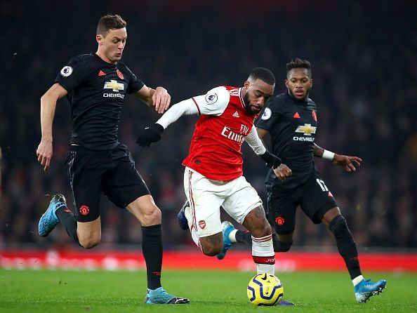 Lacazette worked his socks off throughout and should