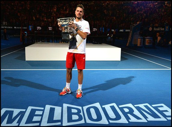 Stanislas Wawrinka made his Grand Slam breakthrough at the 2014 Australian Open