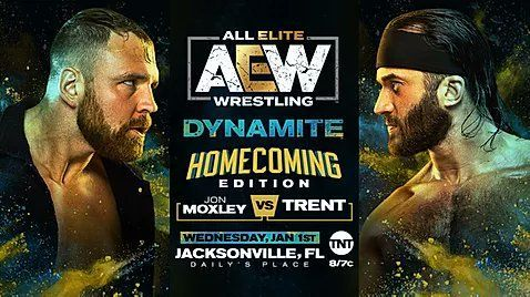 Jon Moxley will take on Trent in singles action
