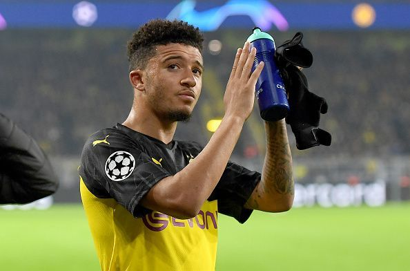 Sancho has scored 11 goals thus far this season