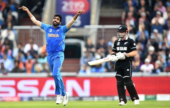 Bumrah took 18 wickets from nine matches in the ICC Men
