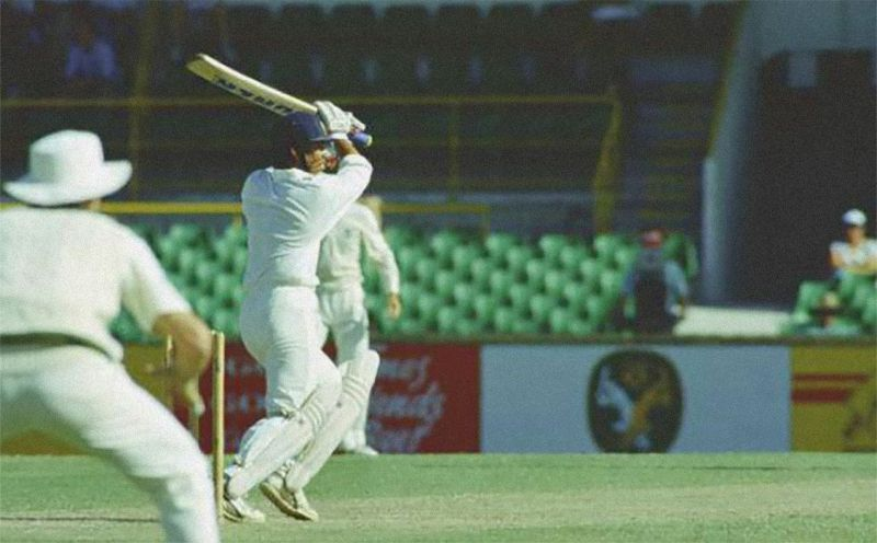 An 18-year old Tendulkar with one his early defining knocks - 114 at WACA, Perth