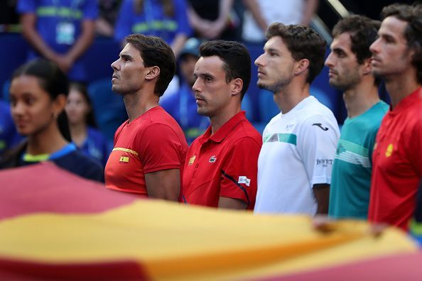The Spanish team, led by Rafael Nadal, is the favourite to win the tournament.