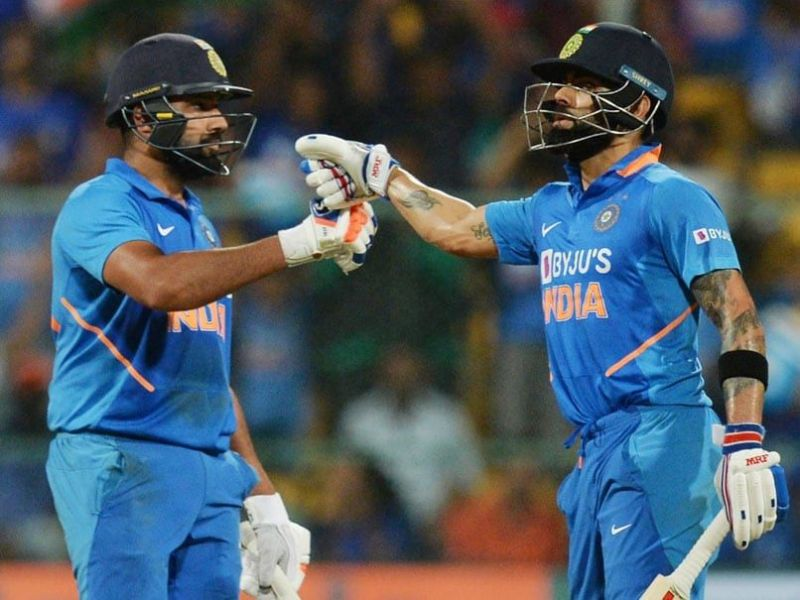 Virat Kohli and Rohit Sharma strung a brilliant partnership of 137 runs which was crucial in India