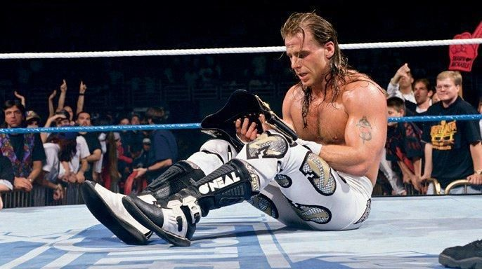HBK celebrates at Wrestlemania, but what if he