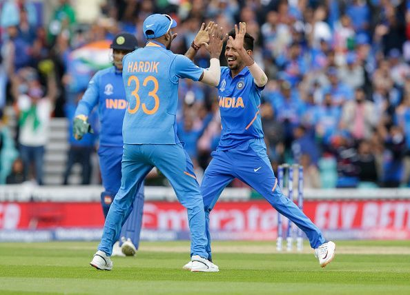Indian team against Australia in World Cup 2019