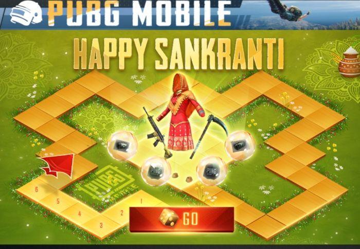Happy Sankranti event in PUBG is quite exciting