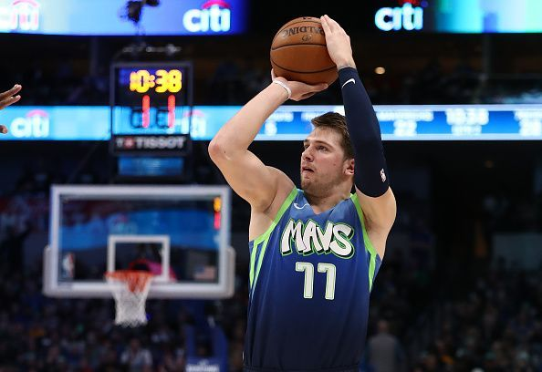 Luka Doncic and the Dallas Mavericks take on the Golden State Warriors