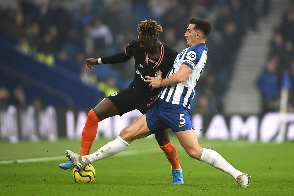Tammy Abraham was not at his best against the Seagulls