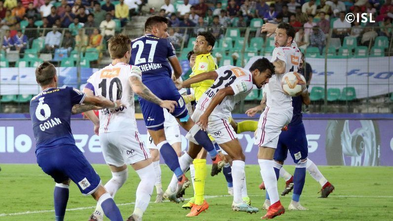 Schembri was guilty of missing several chances (Pic: ISL)