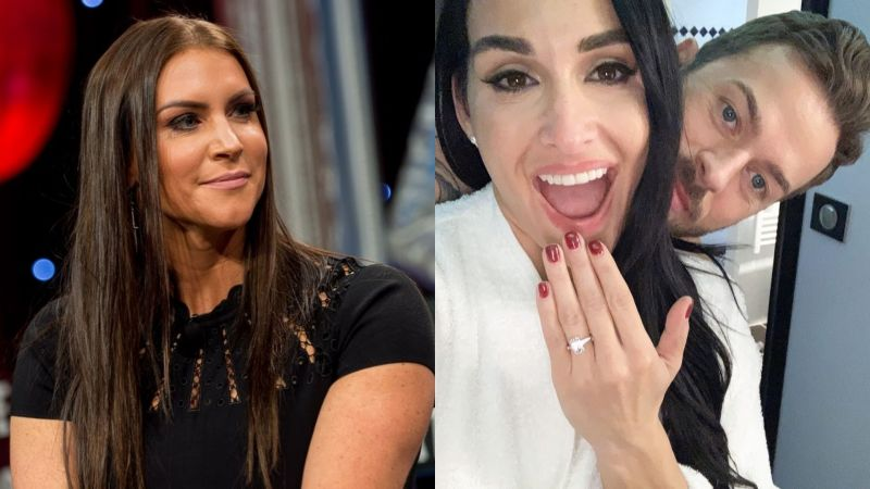 Stephanie McMahon has sent her well wishes to Nikki Bella