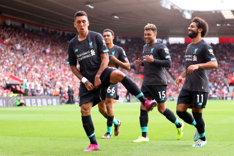 Liverpool host Southampton at Anfield in the Premier League