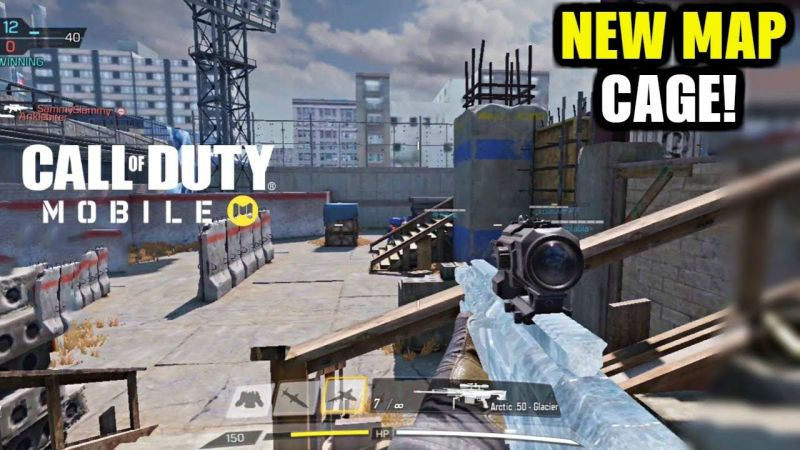 New Cage Map in COD Mobile