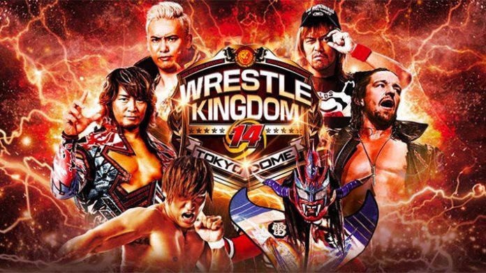 Watch NJPW Wrestle Kingdom 14 Live In Tokyo Dome 2020 1/4/20